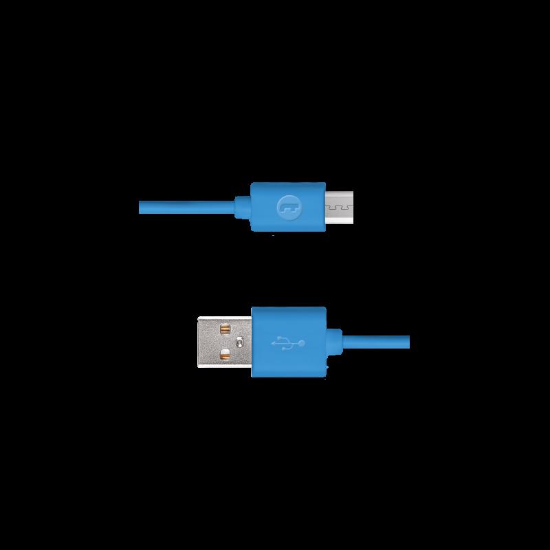 Кабел Mojue Micro USB Cable -  Син