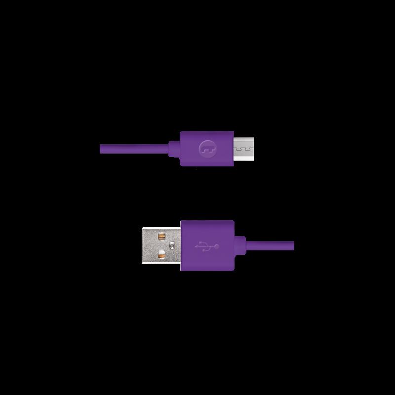 Кабел Mojue Micro USB Cable – Лилав