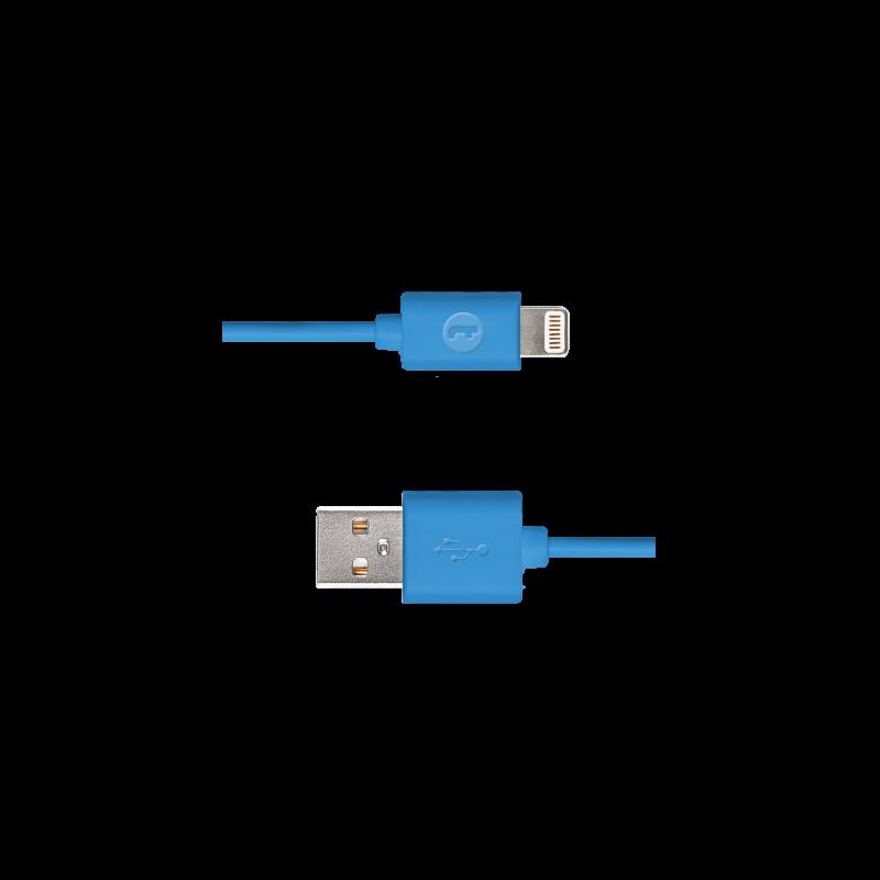 Кабел Mojue Lightning Charge cable -  Син