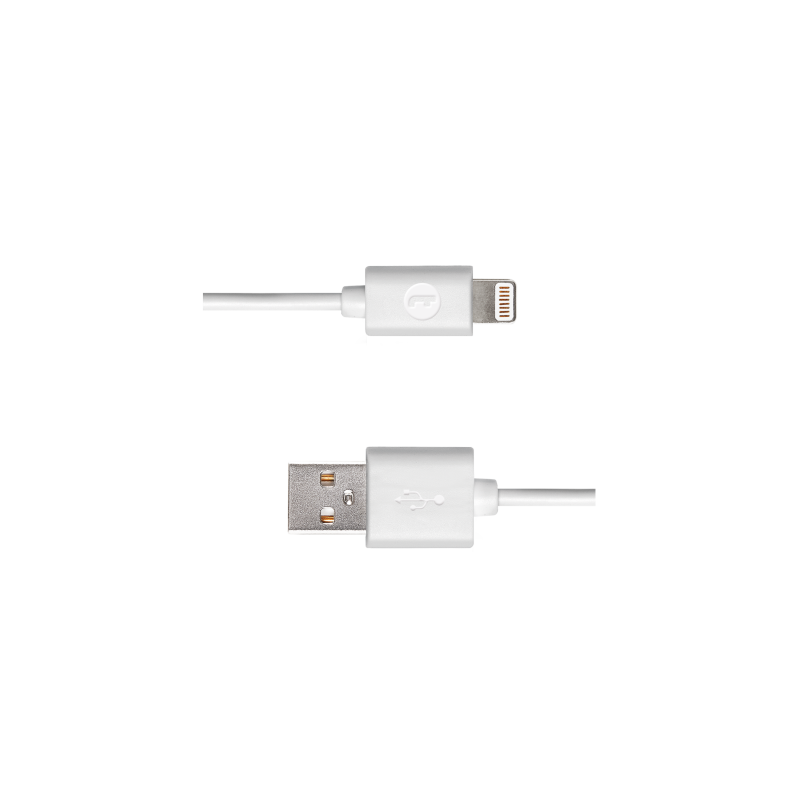 Кабел Mojue Lightning Charge cable -  Бял